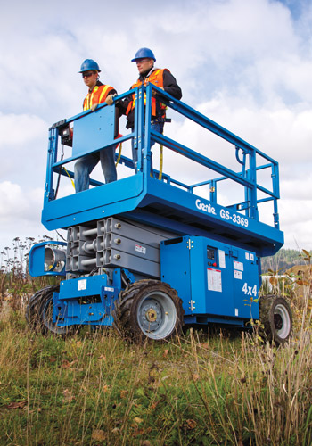 Aerial Manlift Sales Edmonton Calgary Mainline Equipment Ltd